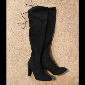Sexy Suede Knee High Boots 8.5